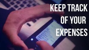 Keep Track of Your Expenses