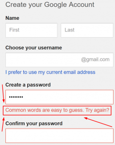 Avoid Easy-to-Guess Passwords