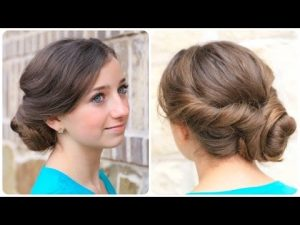 Easy Twisted Bun