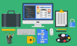 web design and database