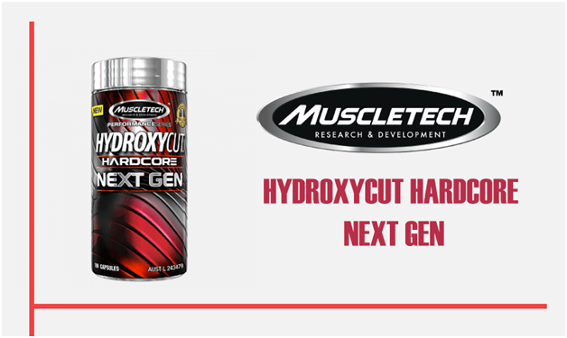 Muscletech - HYDROXYCUT HARDCORE NEXT GEN