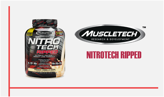 Muscletech - NITROTECH RIPPED