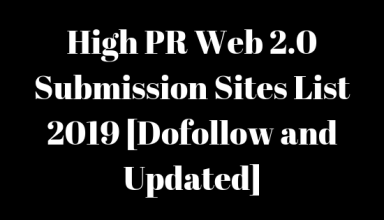 Pr web 2.0 website list