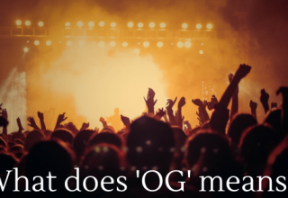 What does 'OG' means _