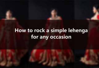 how-to-rock-a-simple-lehenga