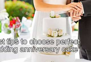 Best tips to choose perfect wedding anniversary cake