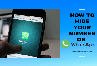How to hide your number on whatsapp